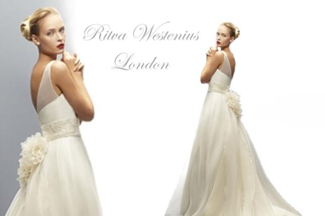 Vestidos de noiva da estilista Ritva na London Traje Social em Curitiba