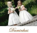 Vestidos para daminhas do Casamento Real disponivel no Brasil