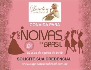 London Traje Social na Expo Noivas do Brasil 2012
