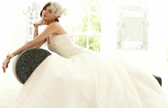 Vestido de Noiva Renda e Tulle Romantico