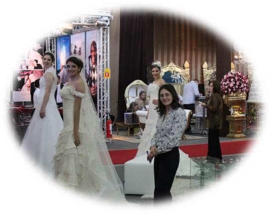 ExpoNoivas 2013 vestido de noiva curitiba