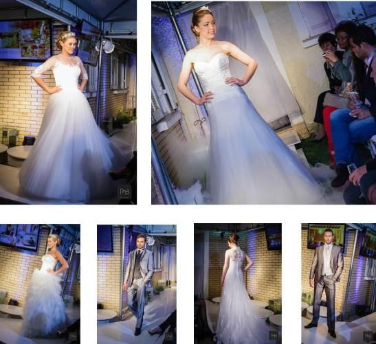 London Traje Social - Desfile traje do noivo e vestido de noiva