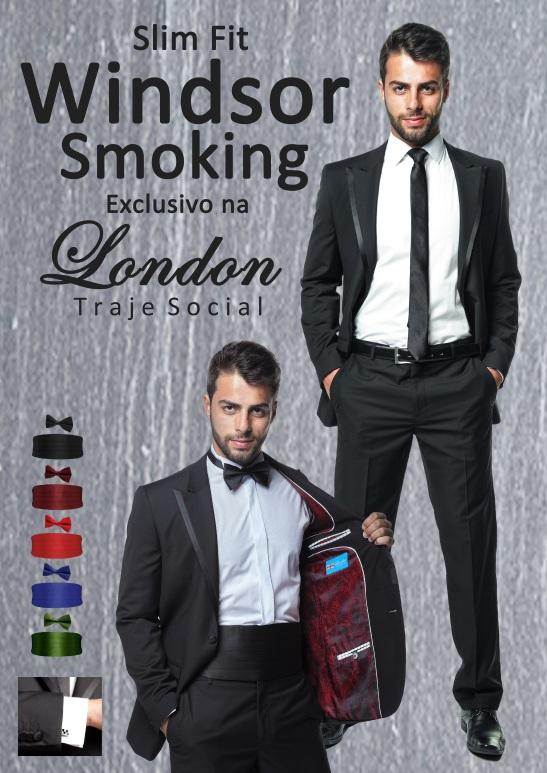 Slim Fit Windsor Smoking Formatura em Curitiba