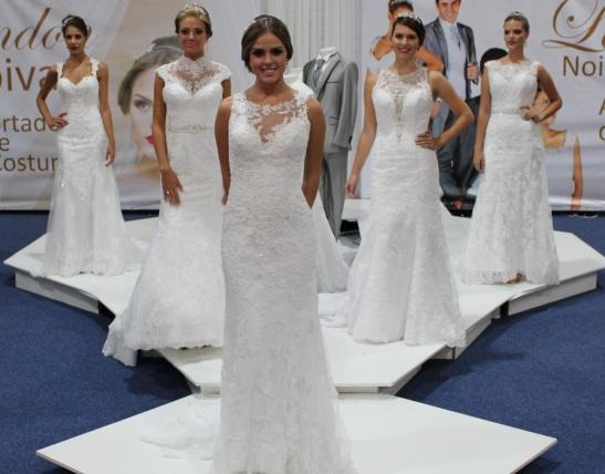 Vestido de noiva 2015 Curitiba Expo Noivas do Brasil