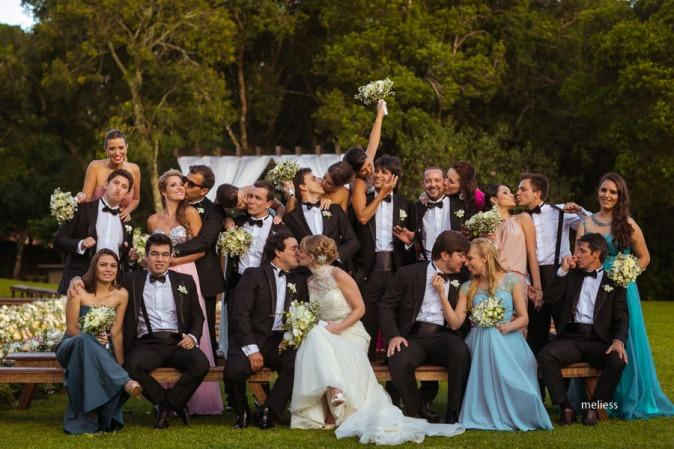 Casamento-Dariane-e-Eder-Padrinhos London Curitiba