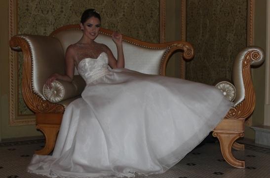 Vestido de noiva de classe em curitiba