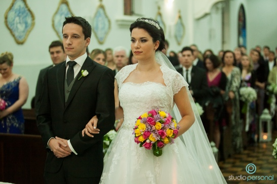 Vestido de Noiva Clássico Princesa Casamento em Curitiba