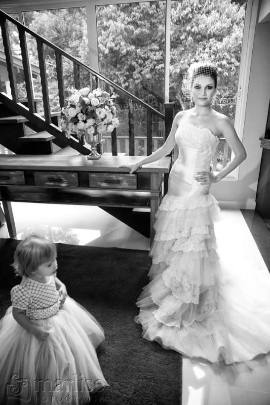 Vestido de Noiva Off-White London Noiva e Noivo Curitiba