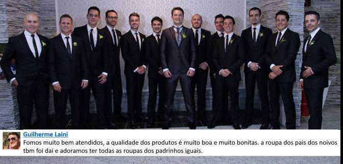 Noivo Real Guilherme e Padrinhos vestem Exclusividade London Noiva e Noivo