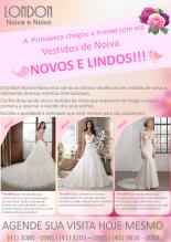 Vestidos de Noiva Coleção Primavera no Tarde das Noivas no Castelo do Batel em Curitiba