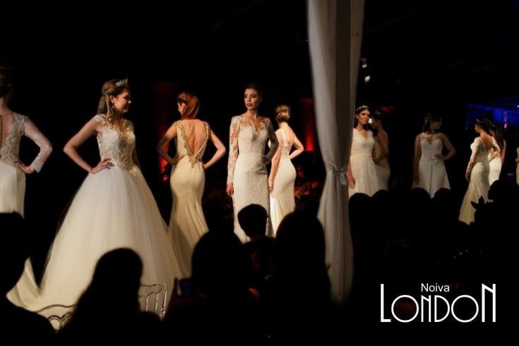 London Vestidos de Noiva Casamento Colecao 2018