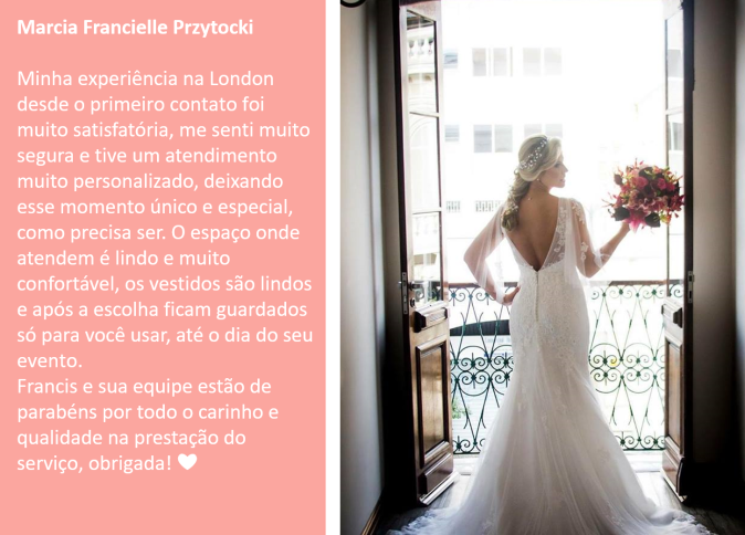 Noiva Real Recomendacao Vestido de Noiva Curitiba London