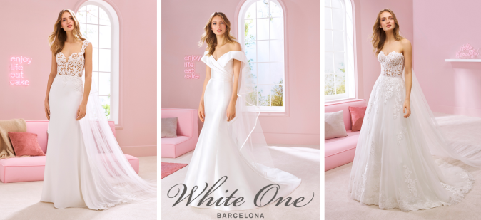 White One Pronovias Fashion Group Colecao 2020